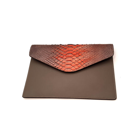 Amishi - Brown Envelope Bag