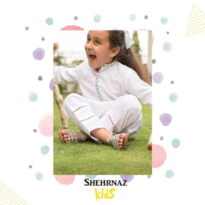 Shehrnaz - White Cotton Shirt