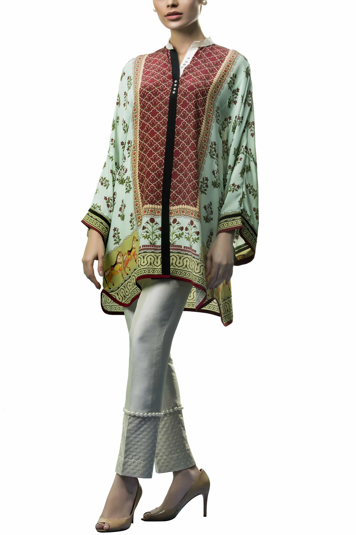 Sania Maskatiya - Crepe Digitally Printed Shirt