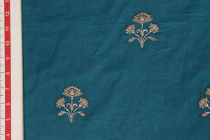 HP Singh - Embroidered Cotton Cambric-5193319