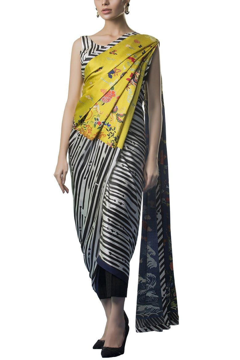 Sania Maskatiya - Digitally Printed Charmeuse Dress