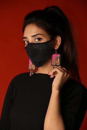 Huma Adnan - Black Basic Mask