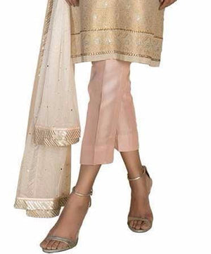 Sania Maskatiya - Plain Raw Silk Pant
