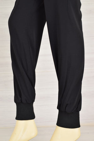 Wov - Black Pol Pullon Pant - 1 PC