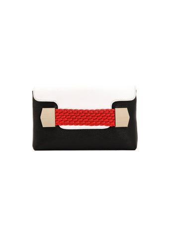 Julke - Trio La Ruche Leather Clutch