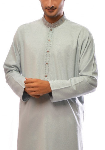 Amir Adnan - Light Blue Ayuthia Regular Fit Suit