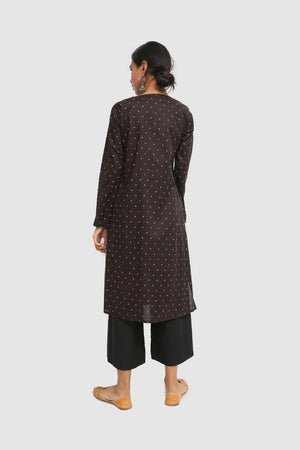 Generation - Black Taary Kurta - 1 PC