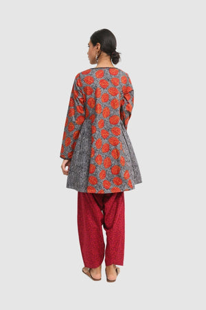Generation - Grey Batik Tunic - 1 PC