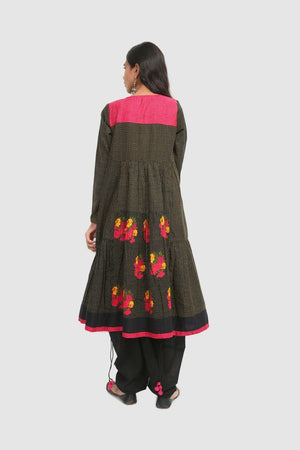 Generation - Black Kaantha Dress - 1 PC