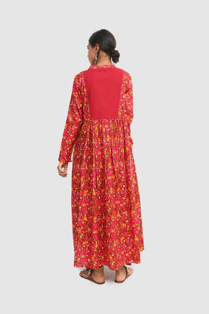 Generation - Maroon Mexican Dress - 1 PC