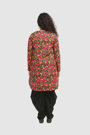 Generation - Black Mexican Printed Kurta - 1 PC