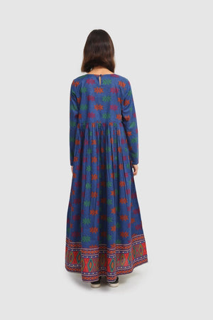 Generation - Blue Ulos Batak Dress - 1 PC