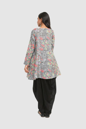 Generation - Grey Rang Flared Tunic - 1 PC