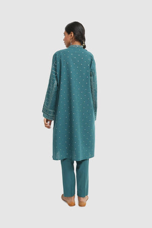 Generation - Green Bhandeej Embellished - 2 PC