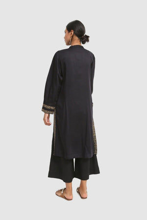 Generation - Black Pomegrante Walk Kurta - 1 PC