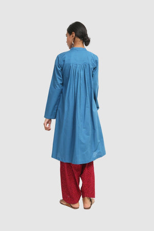 Generation - Blue Autumn Hues Tunic - 1 PC