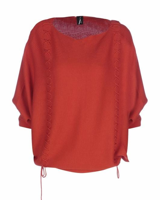 Adeela Salehjee - Bright Red Arosa Jumper