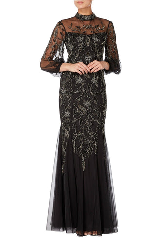 Raishma - Black Avery Gown