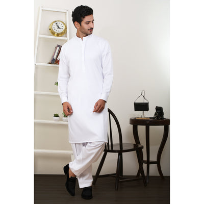 Cotton & Silk - KAMEEZ SHALWAR FS-1973