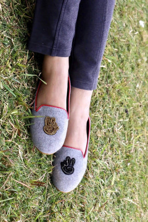 Chapter 13 - Grey Victory Loafers