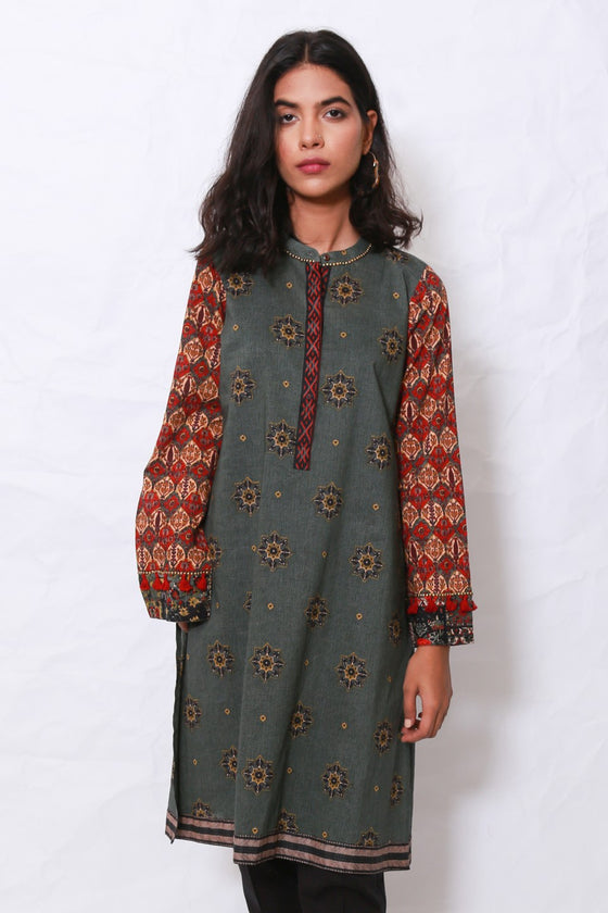 Generation - Green Gul E Irani Shirt