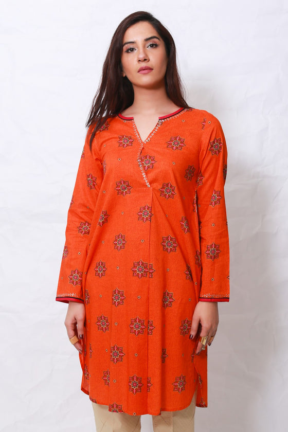 Generation - Orange Gul E Irani Shirt