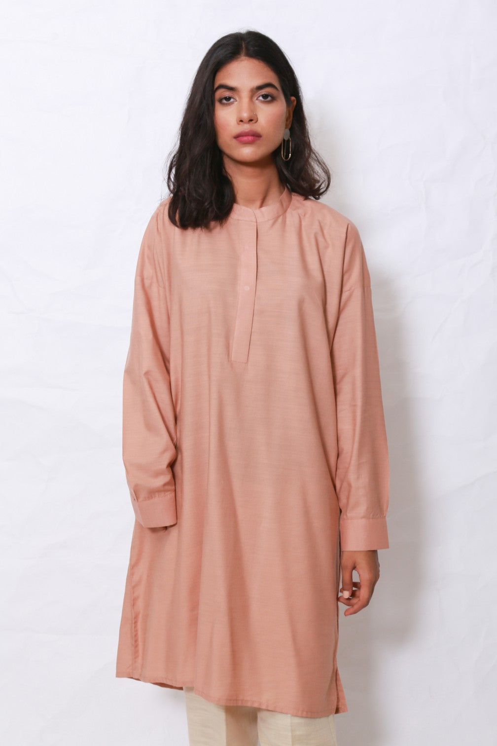 Generation - Teapink Solid Tunic