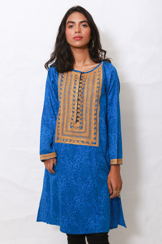 Generation - Blue Qaus E Qaza shirt