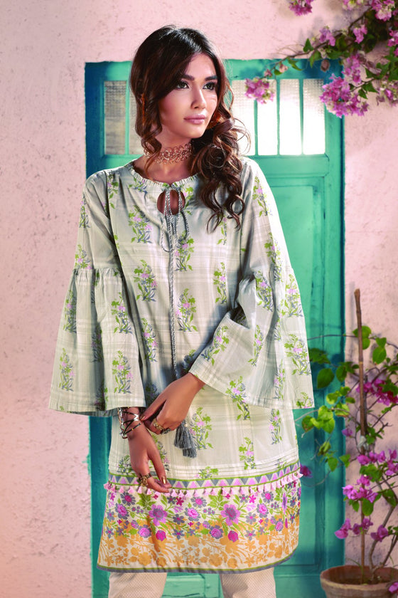 Bonanza Satrangi - Gray Vintage - 1 Pc