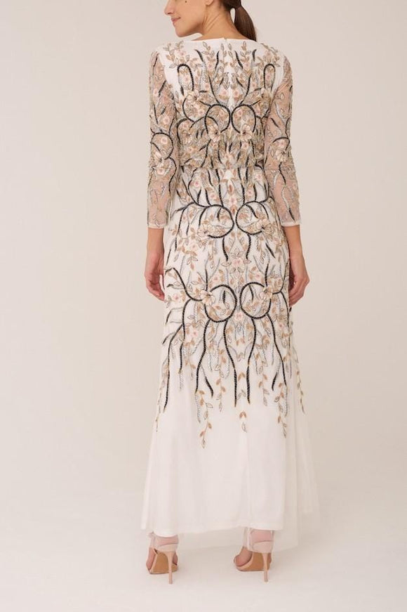 Raishma - Ivory Bloom Gown