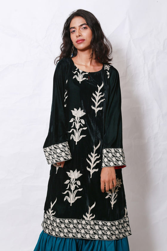 Generation - Green Gulnaar Kurta