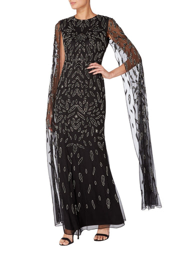 Raishma - Black Cara Gown