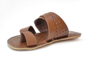 Milli Shoes - Brown Slipper