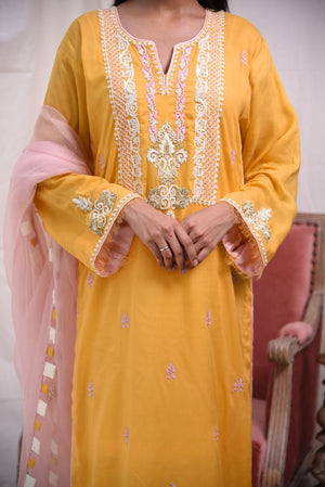 Insam - Yellow Kurta