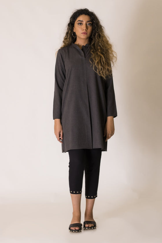 Ego - Charcoal Black Frilled