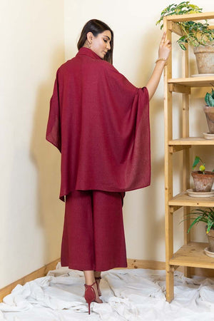 Ego - Maroon Block - 2 PC