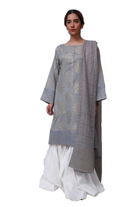 Generation - Grey Charbagh Suit