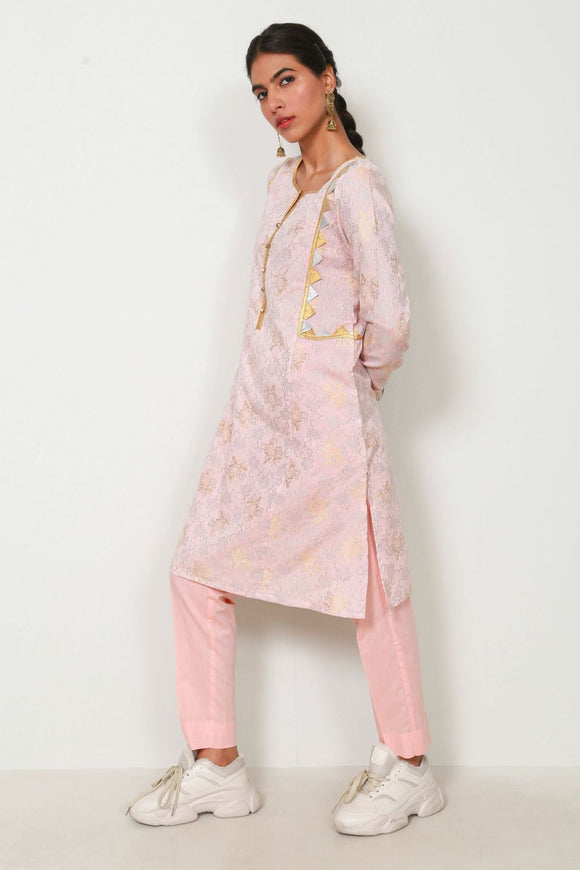 Generation -  Russian Brocade  Co-Ords Pink