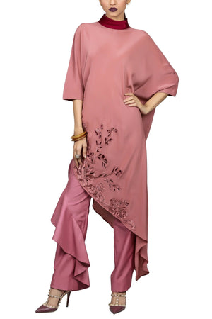 Tena Durrani - Meg Raw Silk Pants