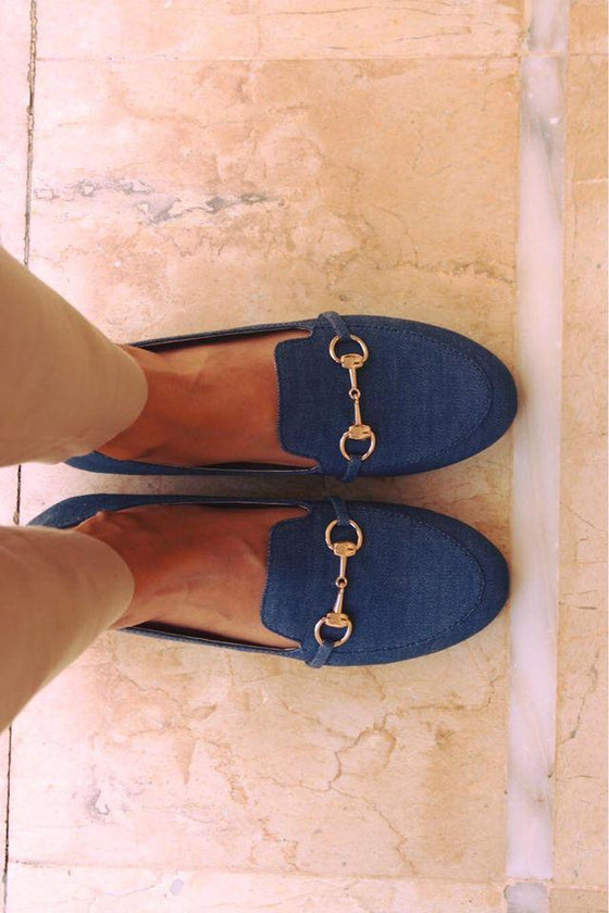 Soma - Denim Free Falling Loafers