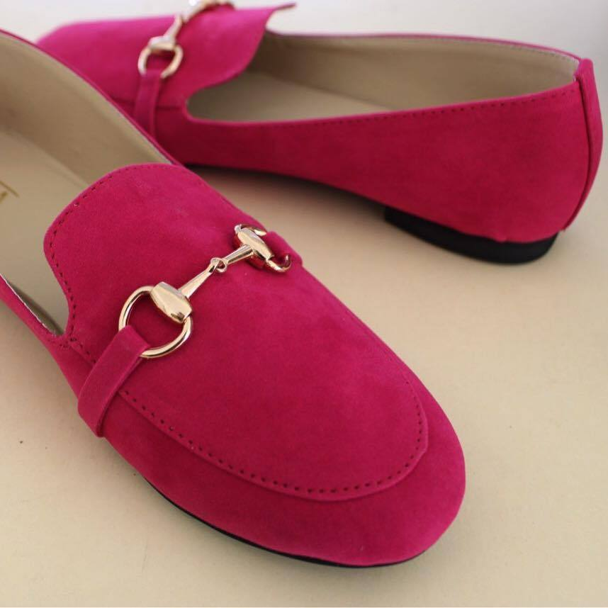Soma - Hot Pink Free Falling Loafers