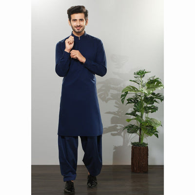 Cotton & Silk - KAMEEZ SHALWAR FS-1970
