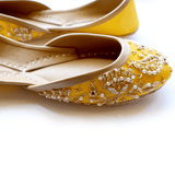 Soma - Flamincino Yellow Hand Crafted Footwear