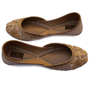 Soma - Flamincino Gold Hand Crafted Footwear