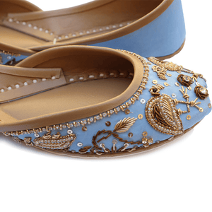 Soma - Flamincino Powder Blue Hand Crafted Footwear