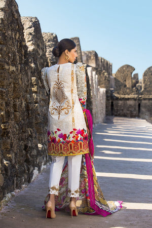 Maheen Karim by Z.S. Textiles - Gilded Passion