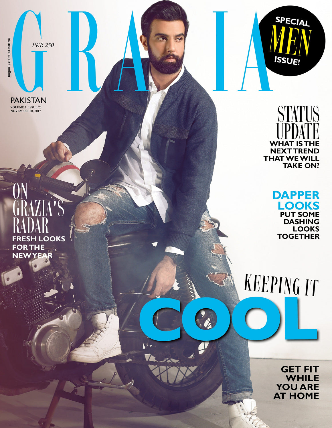 Grazia Pakistan November 20th Issue 2017