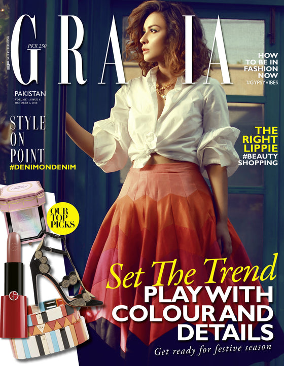 Grazia Pakistan October 5th Issue 2018