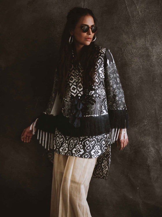 Shamaeel - Silk Embroidered Shirt