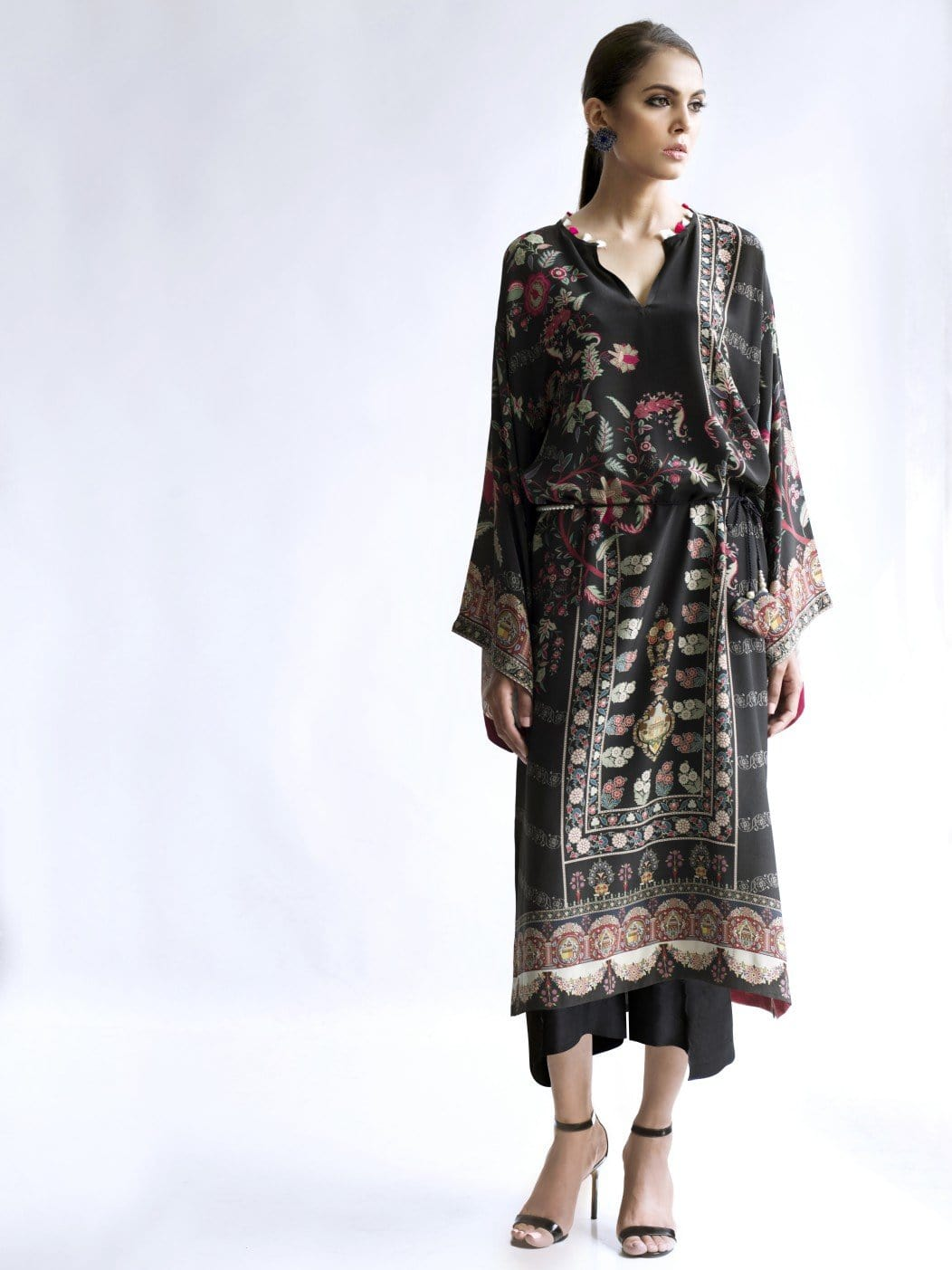 Sania Maskatiya - Crepe Digitally Printed Long Kurta